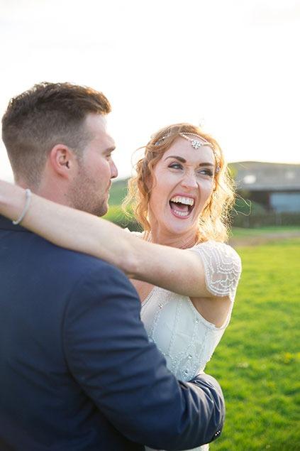 boho bride wedding headpiece